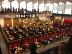 The Girl Scout Proclamation read in the NC House Gallery on March 12, 2013.