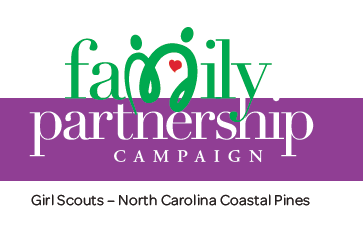 Family Partnership - Girl Scouts - NC Coastal Pines