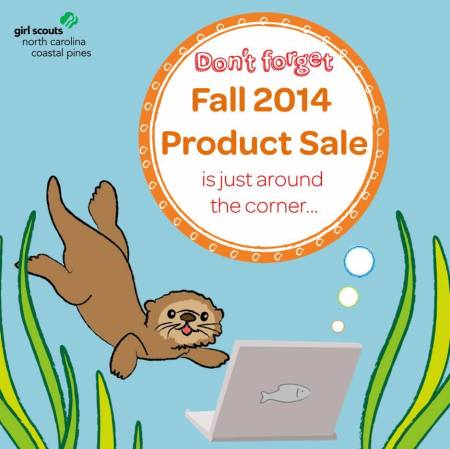Girl Scouts - NC Coastal Pines Fall Sale