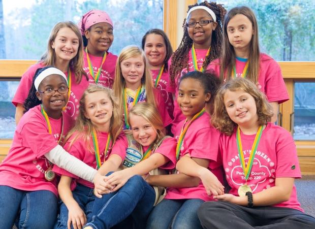 Girl Scouts - NC Coastal Pines Troop