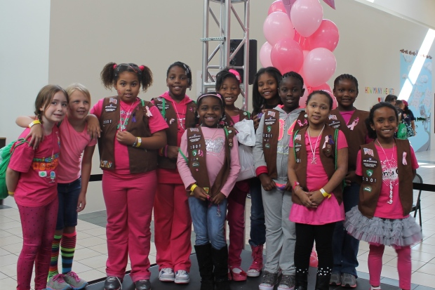 Scouting for the Cure - Girl Scouts NC Coastal Pines