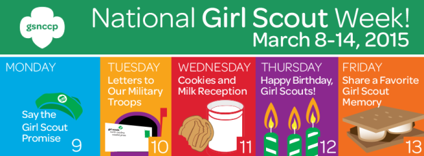 Girl Scout Spirit Week - Girl Scouts NC Coastal Pines