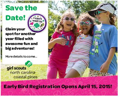Girl Scout Early Bird VIP