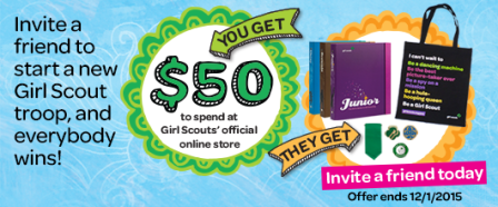 Invite a Friend - Girl Scouts - 2015