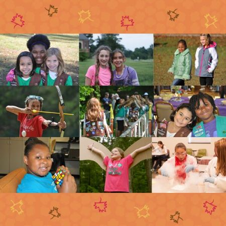 Giving Thanks for Girl Scouts
