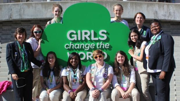 Teen Girl Scouts