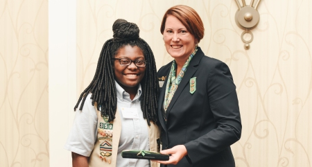 Girl Scout Gold Award