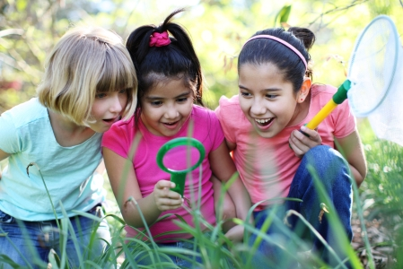 Get Outside with Girl Scouts!