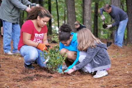Earth Day Girl Scouts