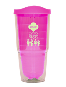 Girl Scout Every Girl Has A Story Tumbler - Girl Scouts - North Carolina Coastal Pines