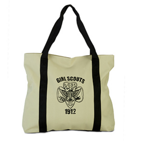 Girl Scout Trefoil Tote Bag - Girl Scouts - North Carolina Coastal Pines