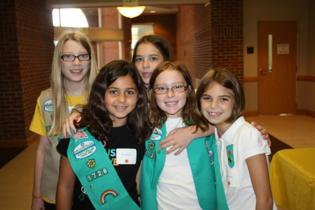 Girl Scout Troop Photo